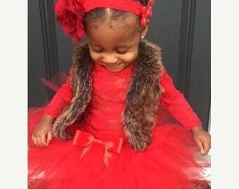 ON SALE  Valentine's Girls Tutu, Toddler tutu, Red Tutu, Tutu, Girls Clothing, Photography Prop For Girls, Red, Girls Skirts, Size 2T-6