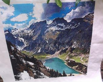 Fibre Art Alps counted cross stitch European Alps counted cross stitch