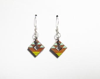 Tribal Earrings, Small, No Chain