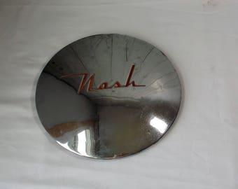 Vintage Nash Hubcap