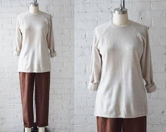 Vintage Henri Bendel Merino Wool Pullover | Small-Medium