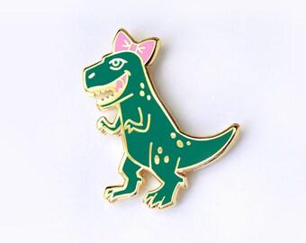 T-rex Enamel Pin