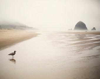 Cannon Beach II - Fine Art Photograph, Ocean, Beach, Sea, City, Oregon, Travel Photography, Wall Art, Room Decor