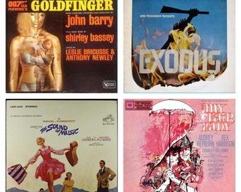 1960's Soundtrack Vinyl Record Lot