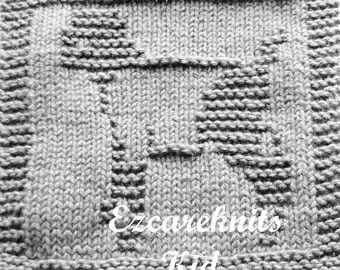 Knitting Cloth Pattern - KID - PDF