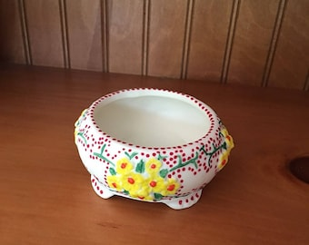 Dot Painted Trinket Dish - Dot Dot Dash by TangoBrat