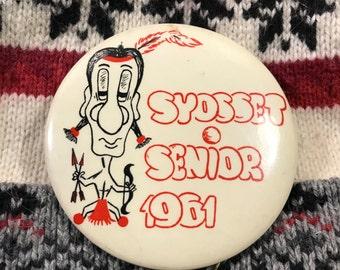 Midcentury Senior Pin