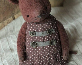 Sewing Kit For 8,5 Inch Mouse Incl. Ready made Outfit