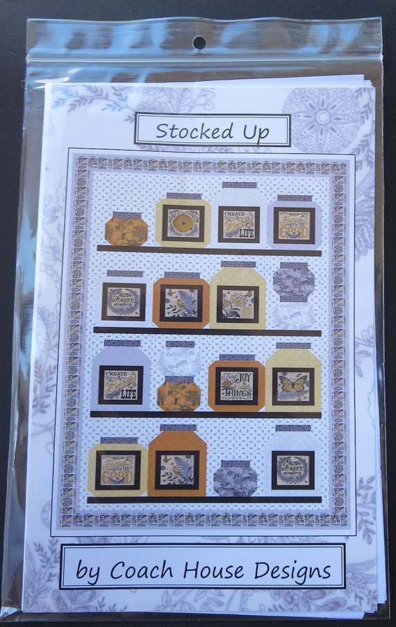 Stocked Up Quilt Pattern 1634 Coach House Designs