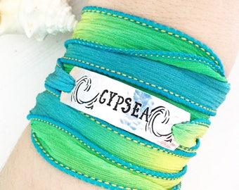 Gypsea, Sea Jewelry, Sea Bracelet, Wrap Bracelet, Ocean Jewelry, Beach Jewelry, Beach Bracelet, Boho Beach Jewelry, Ocean Bracelet