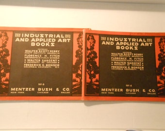 2 Industrial and Applied Art Books  Mentzer Bush Co