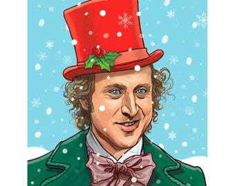 WILLY WONKA Christmas Card!
