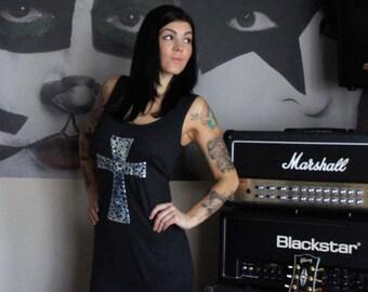 Olivia Paige - Pin up Tattoo rockabilly Studs  Pyramids Batik Leopard Anchor vest sweather Maternity XL XXL