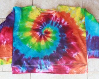 Tie Dye Sweatshirt | Size 2X upcycled