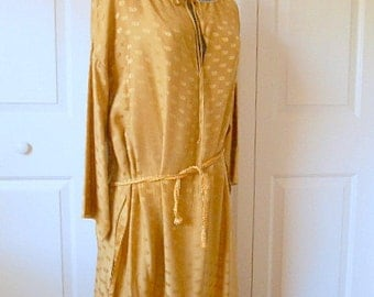 Vintage SILK Kaftan and pants Lounge Wear
