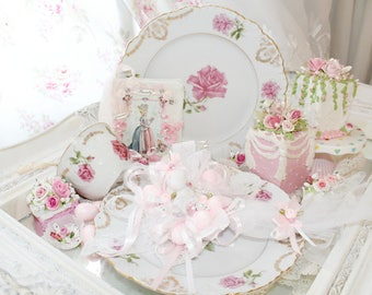 Bella Bunny Princess Pink Easter Grace Lace Rose Tea Party Spoon Tea Time teacup Marie Antoinette Sparkling Shabby Chic Roses