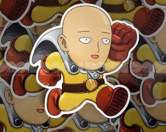 """One Punch 3.5""""x4"""" Sticker FREE Shipping"""