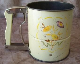 Vintage Androck Hand-i-sift flour sifter.    B346-2