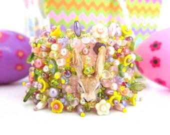 Hop into Spring Beaded Bracelet