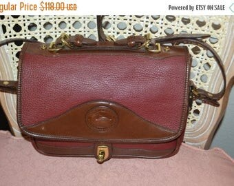 Spring Sale ON Sale Dooney & Bourke~Dooney Bag~ Dooney~Dooney Shoulder Bag~ Burgandy Dooney USA Made Cross Body
