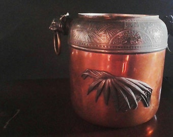Meriden Britannia Mixed Metal Lamp Base No. 595 Aesthetic 1886 Catalog