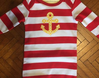 Newborn sleep gown, baby outfit, newborn outfit, baby shower gift, baby gift, newborn