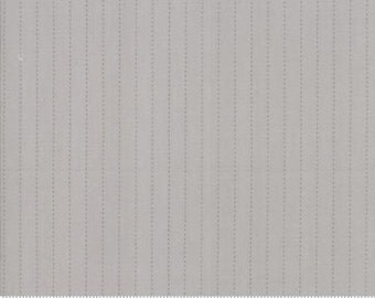 Sweet Marion Silverware Grey The Dash Stripe 24046 17  by April Rosenthal for Moda