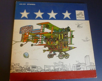 Jefferson Airplane After Bathing at Baxter's Vinyl Record LSO-1511 Stereo RCA Victor