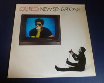 Lou Reed New Sensations Vinyl Record AFL1-4998 RCA Records 1984