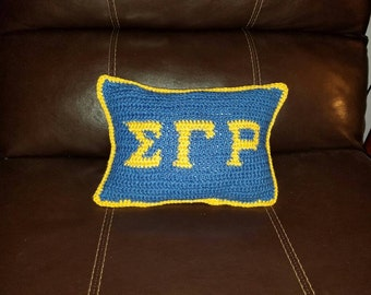 Sorority pillow Made to Order