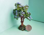 Minaiture Flowering Tree for Most Dollhouse Scales