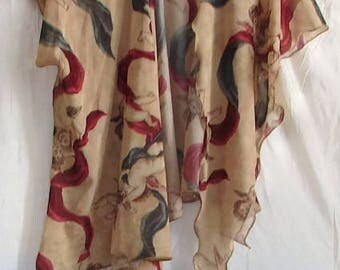 Open Front Poncho womens jacket open front poncho ruana wrap wraps and shawls fantasy shawl fantasy shawl fantasy clothing Open Front Poncho