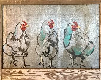 Three Sassy Chicks