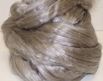 RawCo. Tibetan Yak Cultivated Silk Blend Luxurious Combed Top Roving