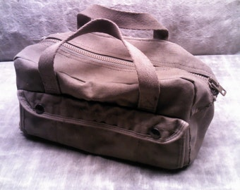 Canvas Green Tool Bag