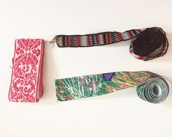 Elastic Trim, Boho Trim, Crafting Supply, Sewing Supply, Fashion Trim