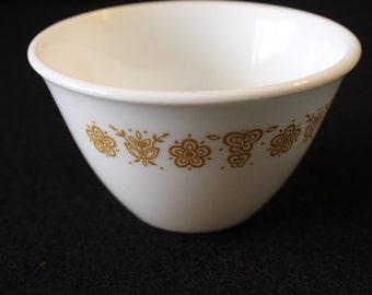 Corelle Livingware  by Corning Gold Butterfly Pattern Sugar Bowl