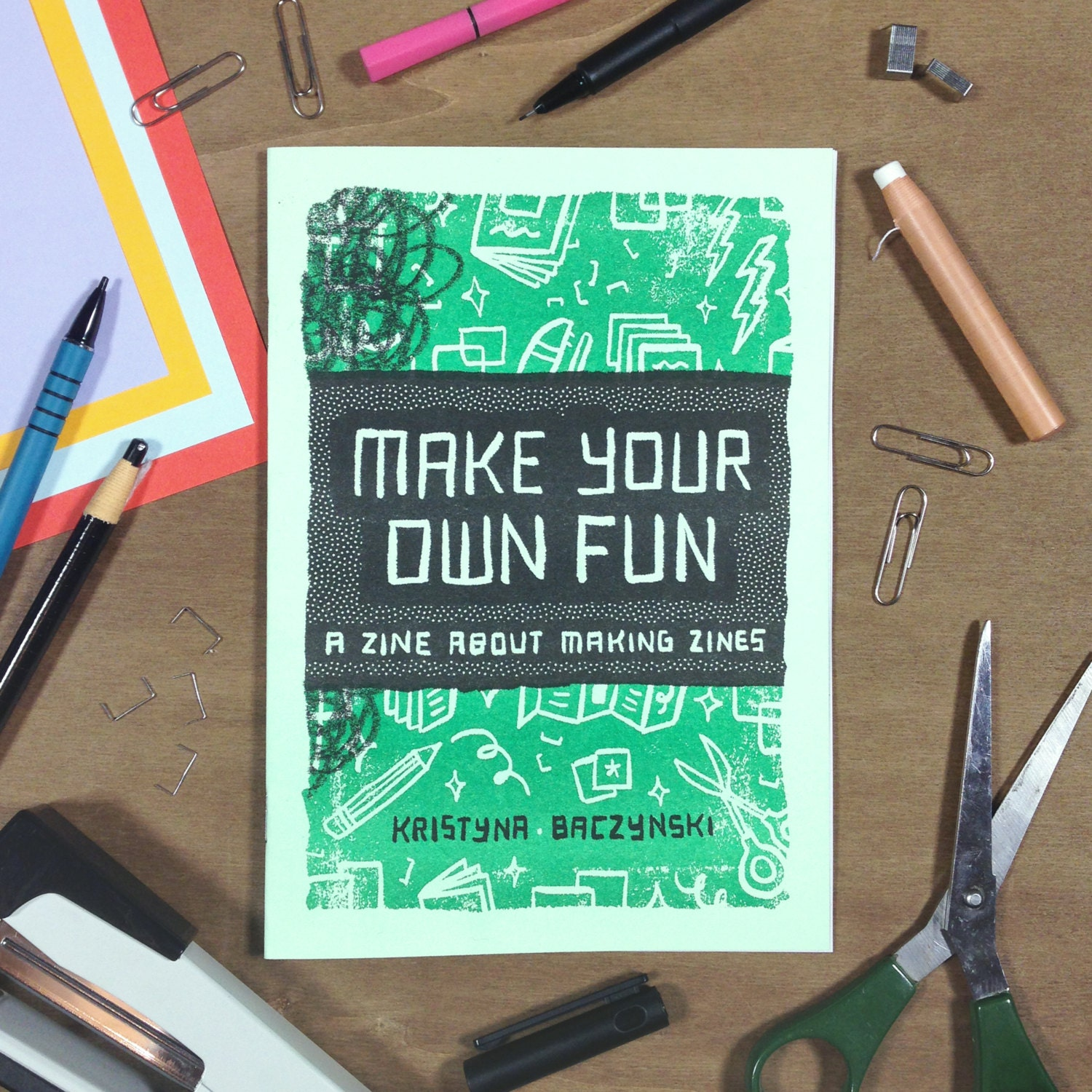 Making Your Own Halloween Decorations: A Zine About Making Zines 'Make Your Own Fun