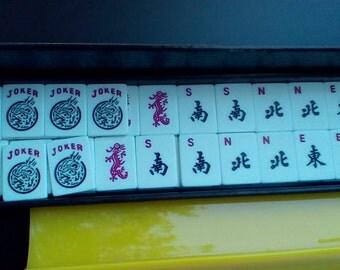 1984 Travel Mah Jongg (Ma Jong).  National Mah Jongg League.  Y-131