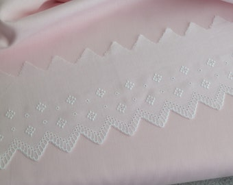 Swiss Embroidered Edging