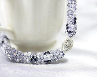 Chic Shiny Swarovski Crystal Necklace