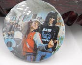 Vintage The Ramones Rock n Roll High School Photo Pin Pinback Button DR43