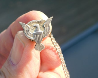 Eagle Tie Tack Etsy