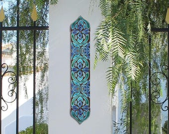 Superbe Outdoor Wall Art SET OF 6 TILES, Moroccan Tiles To Decorate A Column,  Moroccan