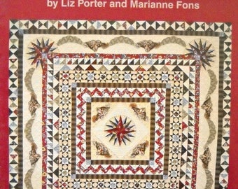 Savannah Medallion Quilt Pattern Booklet, by Fons and Porter