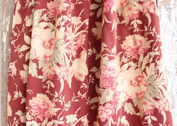 Wonderful Rare Old World 1930s 40s Cabbage Rose by SimplyPosh