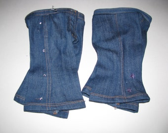Jeans for American Girl type doll