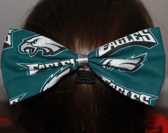 Philadelphia Eagles Bow/Hair Clip Accessory