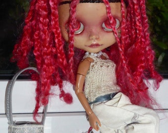 Blythe 80's Inspired  Pants & Knitted Top  Outfit ( BD4317)