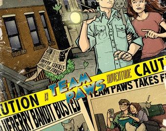 CUSTOM comic book cover - SAMANTHA